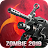 Zombie Defense Force-3d zombies hunting king Icône