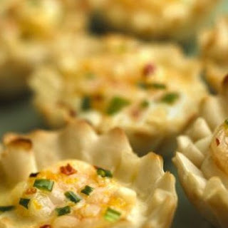 Creme De Brie Shrimp Cups