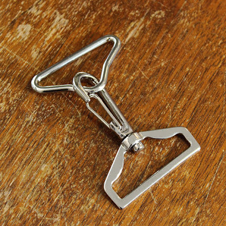 Karbinhake för band - silver