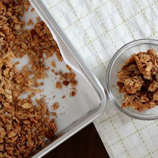 Healthy Homemade Granola.