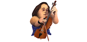 Female Dwarf Playing The Violin
