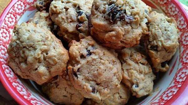 ~ Oatmeal ~ Raisin ~  Nut  Cookies ~