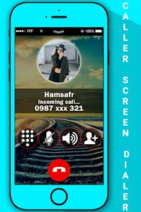Caller Screen Dialer with PIP Photo - náhled