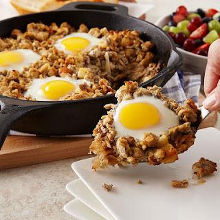 Hearty Apple Chicken Breakfast Skillet