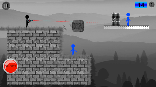 Stickman Shooting - Stickman fight game screenshot 2