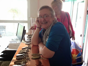 Photo: Birgitta var en klippa och hjälpte SiV-teamet att hålla i alla trådar under helgen.