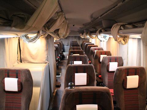 京王バス東「新宿神戸姫路線」(プリンセスロード) 81553 車内