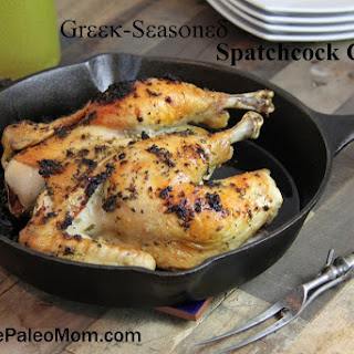 Greek-Seasoned Spatchcock Chicken (AIP-friendly!)