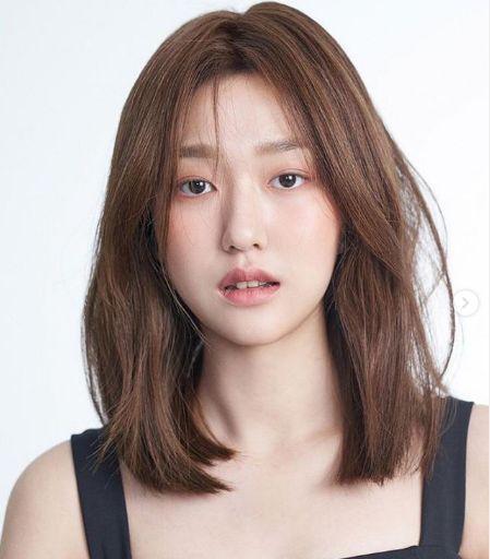 4.ทรงผมน่ารักสไตล์เกาหลีแบบผมสั้นประบ่า