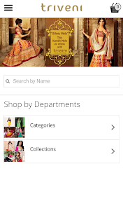 Triveni Ethnics Shopping App screenshot 1