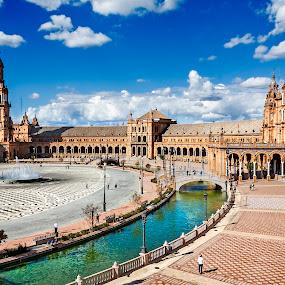 Plaza de España (Sevilla) by Jesús Sánchez Ibáñez - Buildings & Architecture Public & Historical