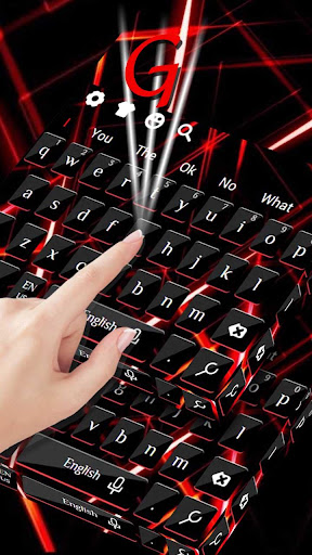 Red Laser Threads Keyboard 10001004 screenshots 2