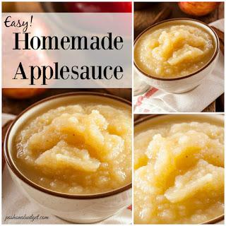 Easy Homemade Apple Sauce