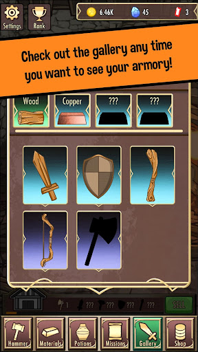 Medieval Clicker Blacksmith - Best Idle Tap Games 1.6.4 screenshots 2