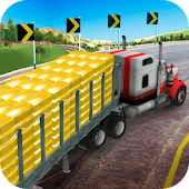Offroad Gold Transport Truck Driver Mod