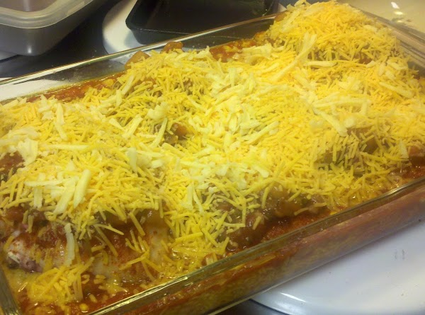 Remove foil and pour salsa on top of chicken. Sprinkle with the grated cheese. Return...
