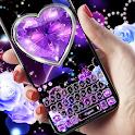 Purple Diamond Rose keyboard icon