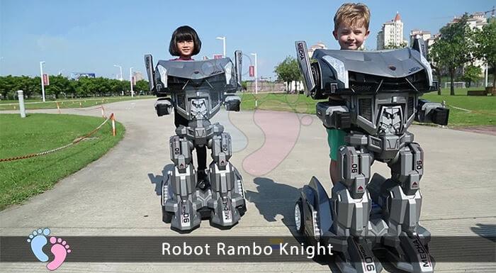 Siêu phẩm Robot Rambo Knight Cho bé 5