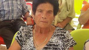 Lucía García, la anciana desaparecida.