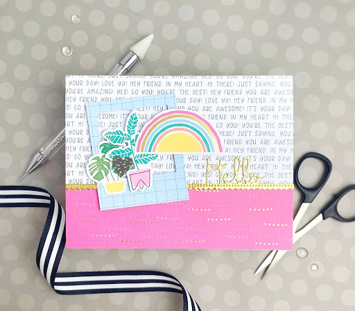 June Card Kit and a Question {Spellbinders}...