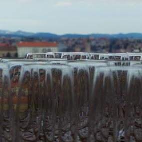 glasses by Alen Zita - Artistic Objects Glass ( window, glasses, artistic, croatia, zagreb )