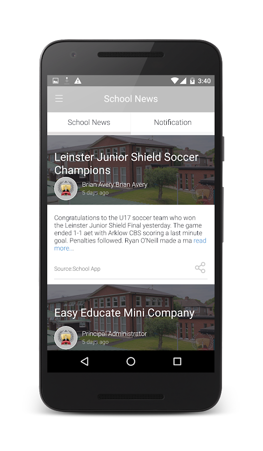 St. Declan's College- screenshot