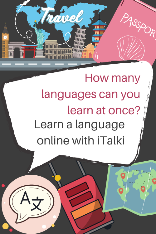 How many languages can you learn at once
