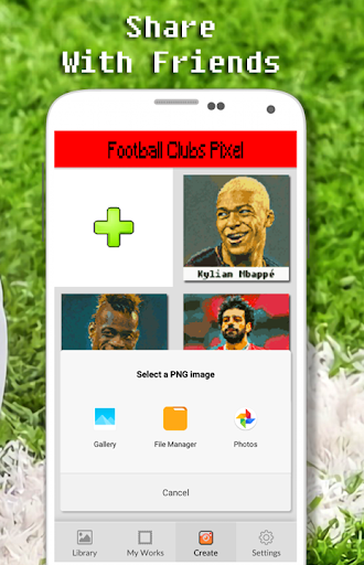 Football Player Color By Number - Pixel Art apkmr screenshots 7