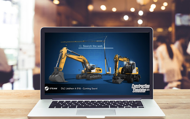 Construction Simulator Wallpapers Game Theme