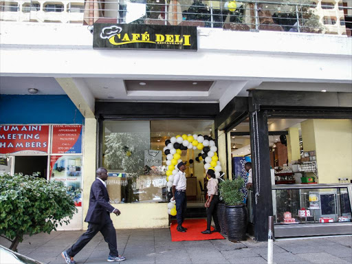 A Cafe Deli branch in Nairobi