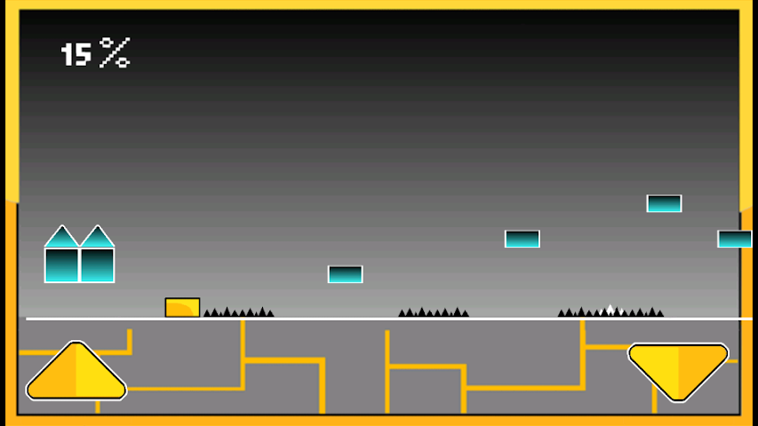 android Geometry Cube Jump Screenshot 5