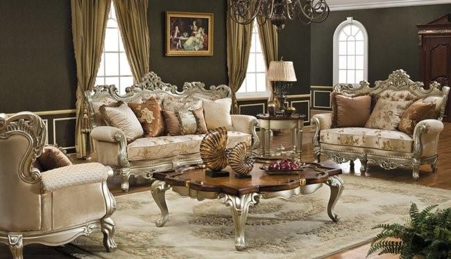 bàn ghế sofa tân cổ điển