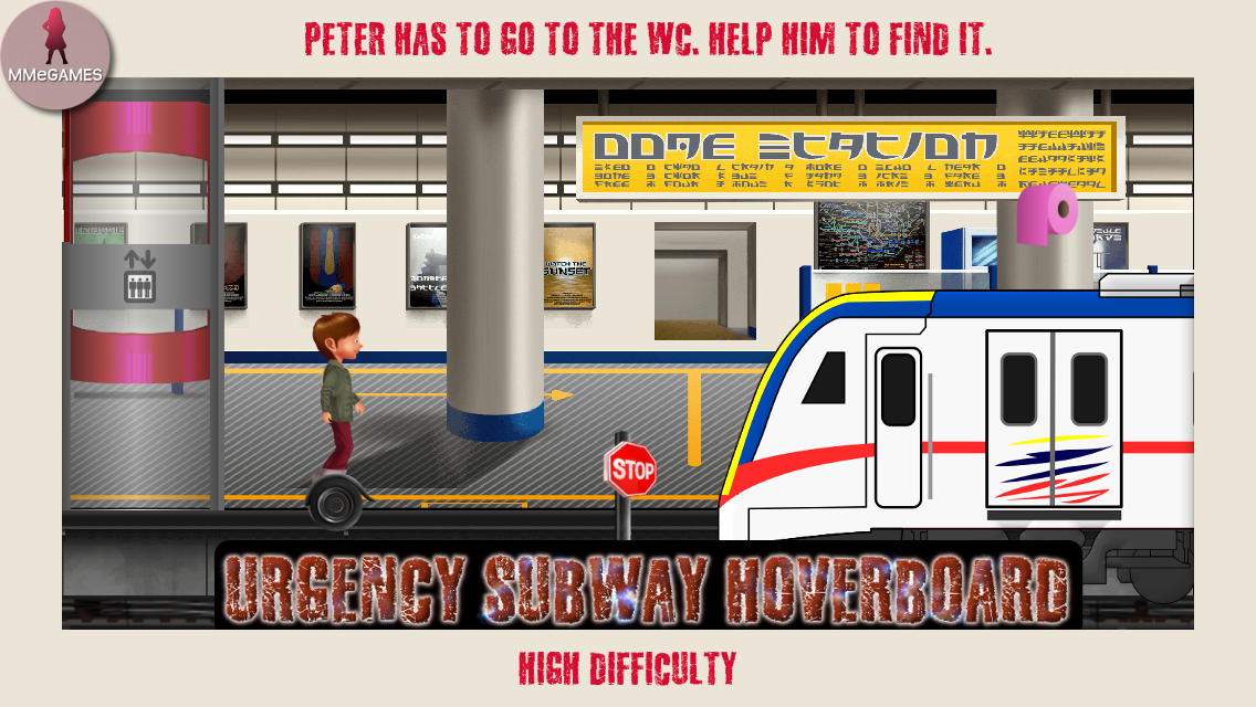 Urgency subway hoverboard- screenshot