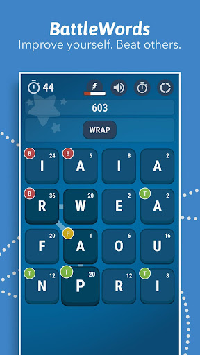 BattleWords Premium game for Android screenshot