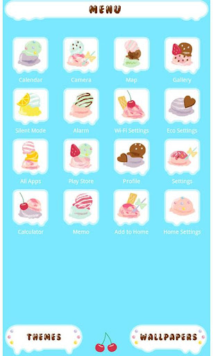 無料个人化Appの★무료 꾸미기테마★아이스크림 주세요|記事Game