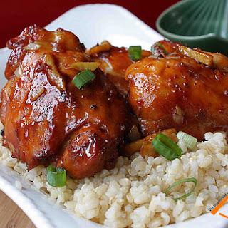 Vietnamese Caramel Ginger Chicken recipe (Ga Kho Gung)