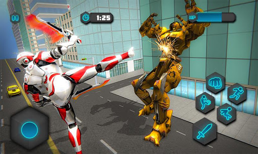 Dual Sword Hero Robot Transforming 3D screenshots 1