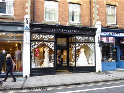 af4d20918a9 Ellie Sanderson on Little Clarendon Street - Bride & Groom Shops in ...