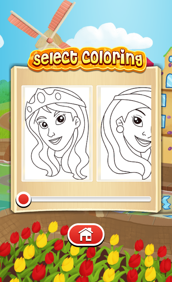 Princess Coloring Game - Android Apps on Google Play