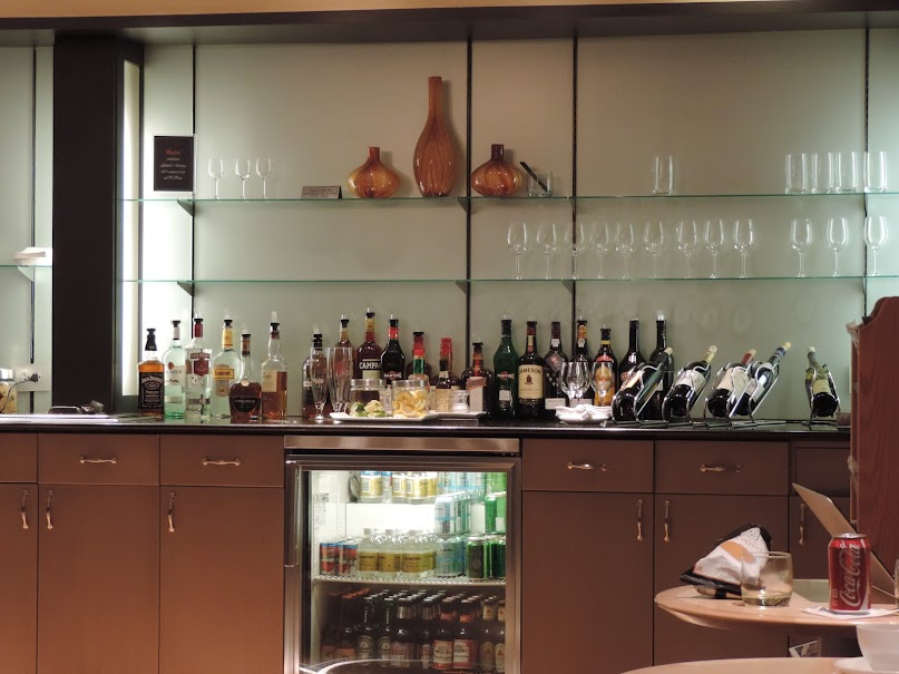 British Airways, Cathay Pacific, ORD, Lounge