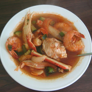 Goatgaetang (Spicy Korean Crab Soup).