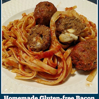 Gluten-free Bacon And Cheese Stuffed Meatballs.