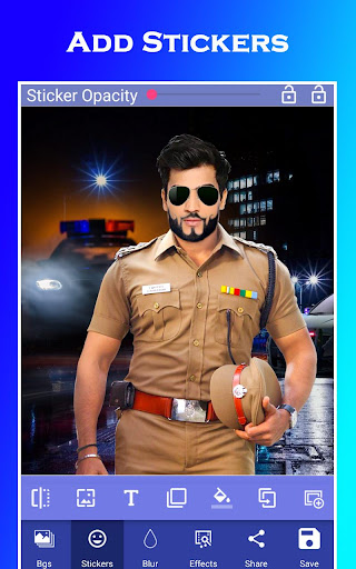 Men Police Suit Photo Editor 2020 1.0.17 screenshots 6