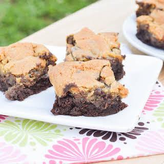 Brownie Chocolate Chip Cookie Bars (Brookies).