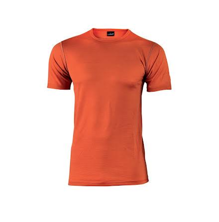 Tshirt Agaton, Lightwool, orange, herr