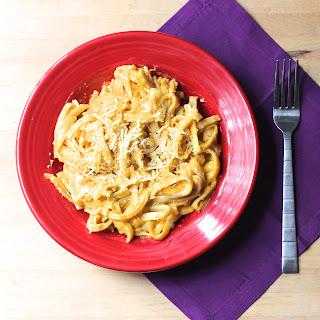 Butternut Squash Fettuccini Alfredo