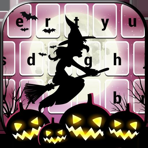 無料で ハロウィン キーボードのテーマ 通訊 App LOGO-APP試玩