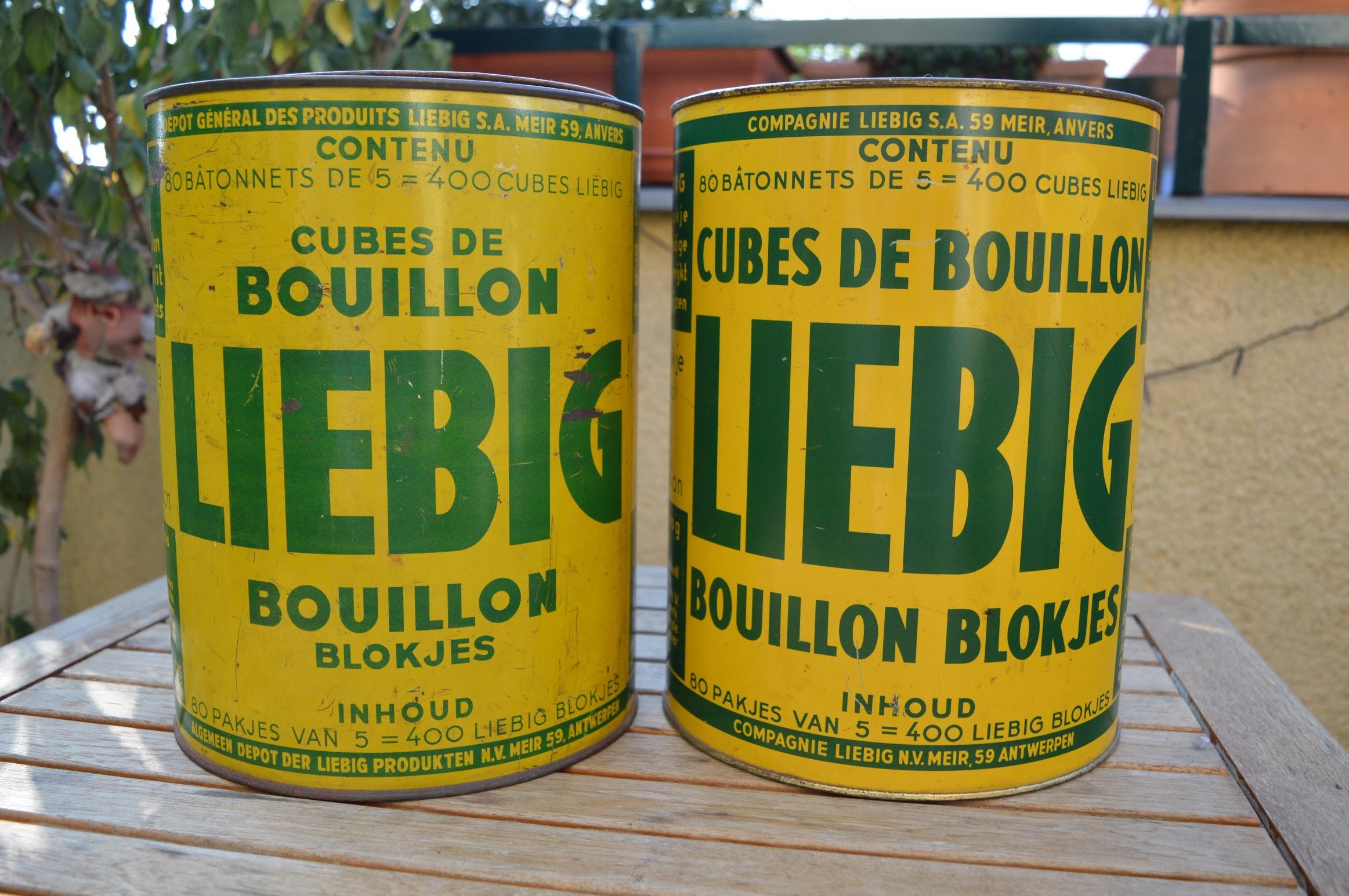 Liebig Fleisch-Extrakt Blechdosen