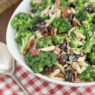 Broccoli Salad with Bacon and Dried Cherries