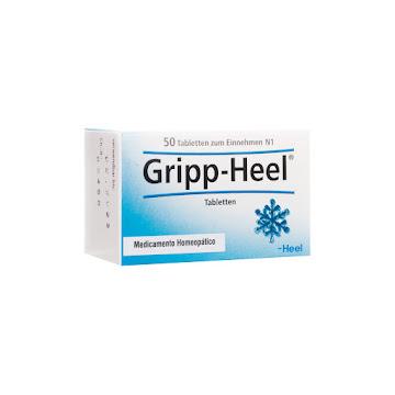 Gripp-Heel Tabletas Caja   x50Tab. Heel Aconitumbryonialachesis